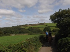 Horse Riding Holiday in Cornwall